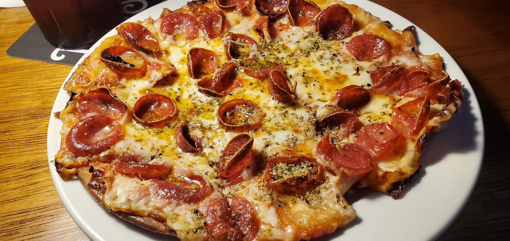 Pepperoni Pizza from Gibbys Eatery and Sports Bar