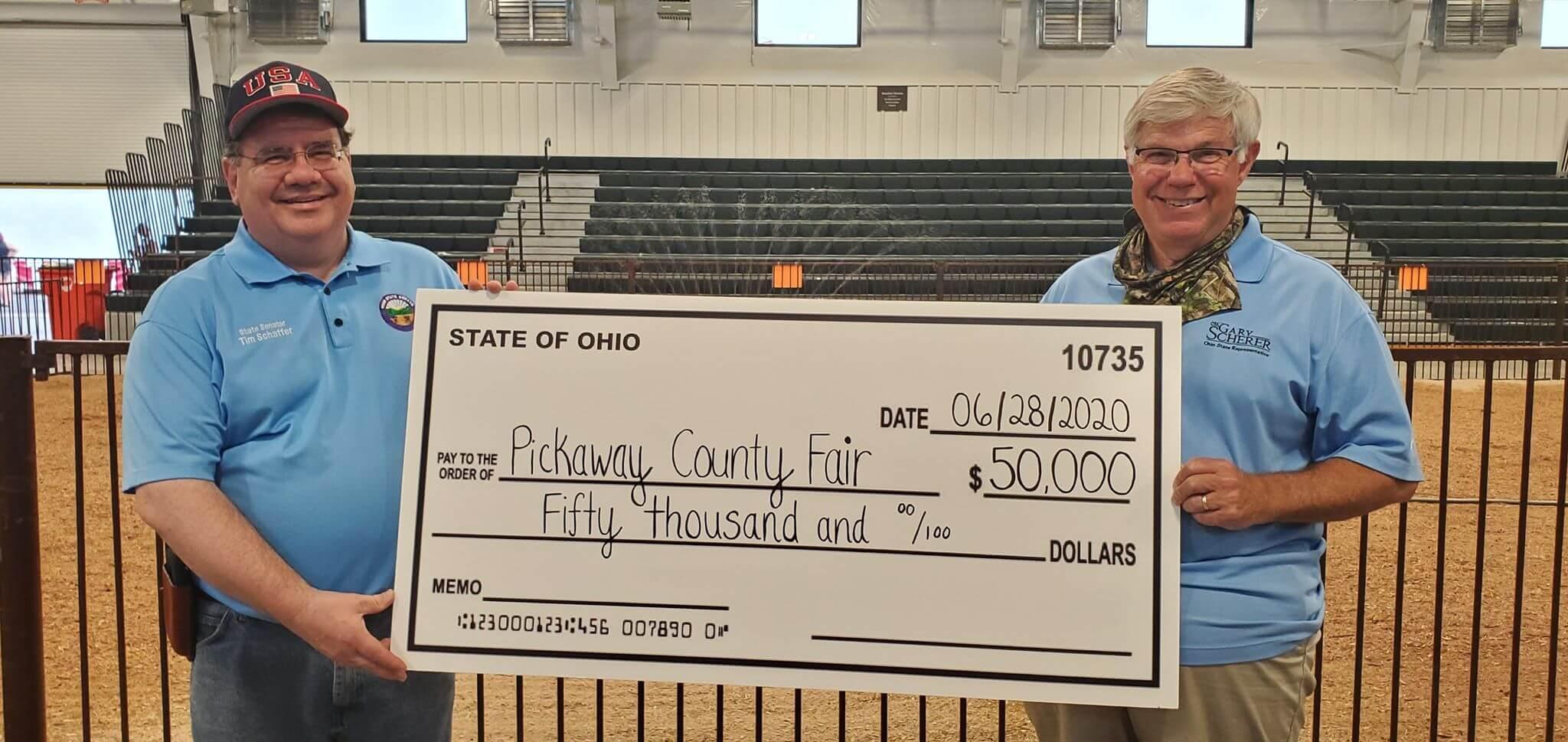 Pickaway County Fair receives $50,000 grant