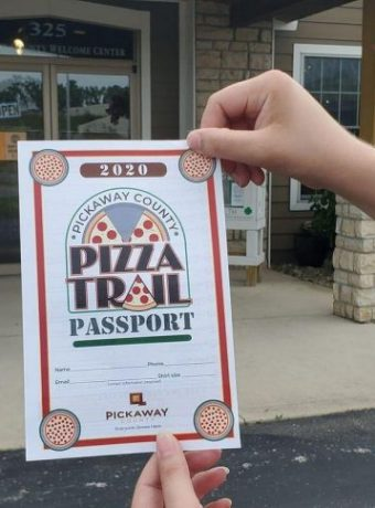 Pickaway County Visitors Bureau Pizza Trail Passport