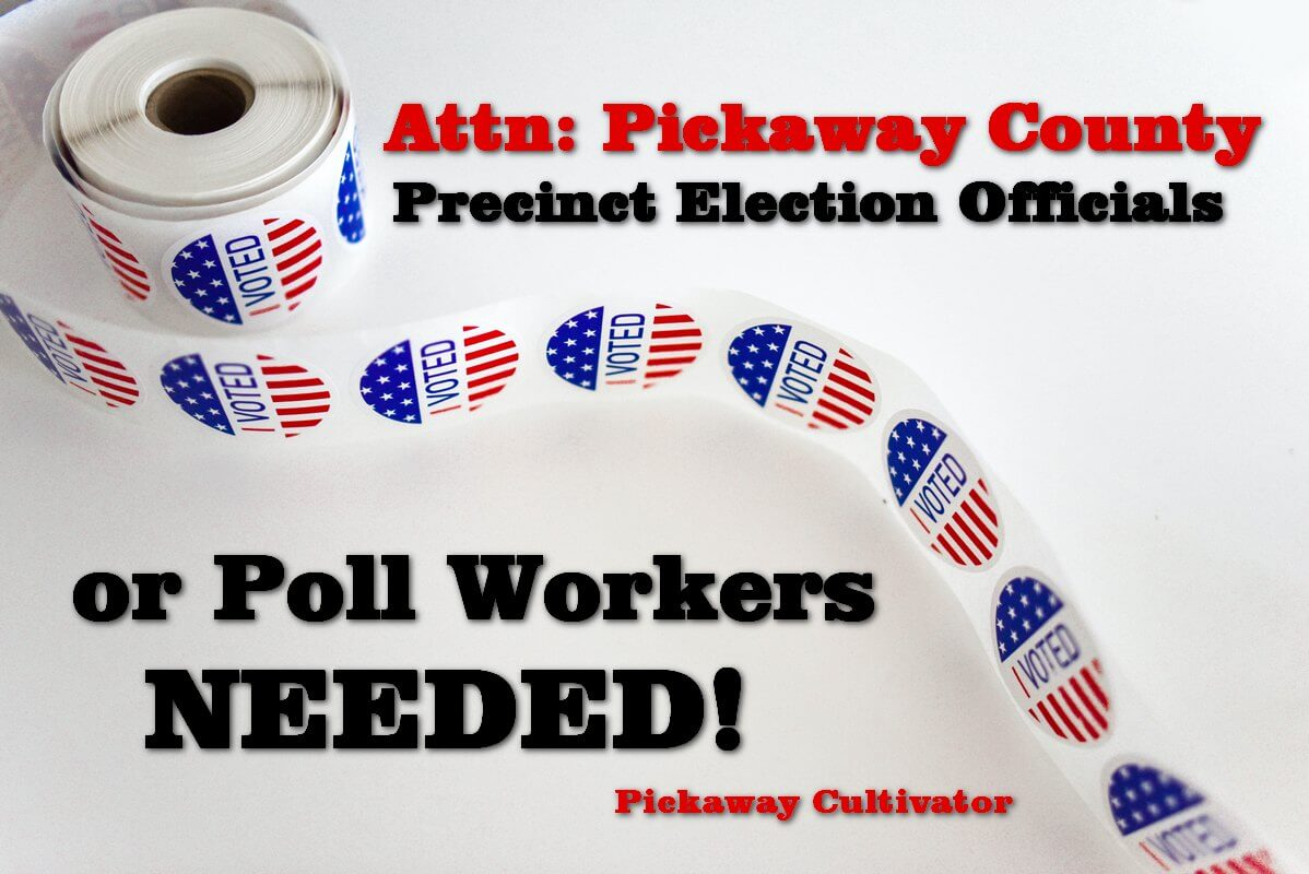 Poll workers needed 2020