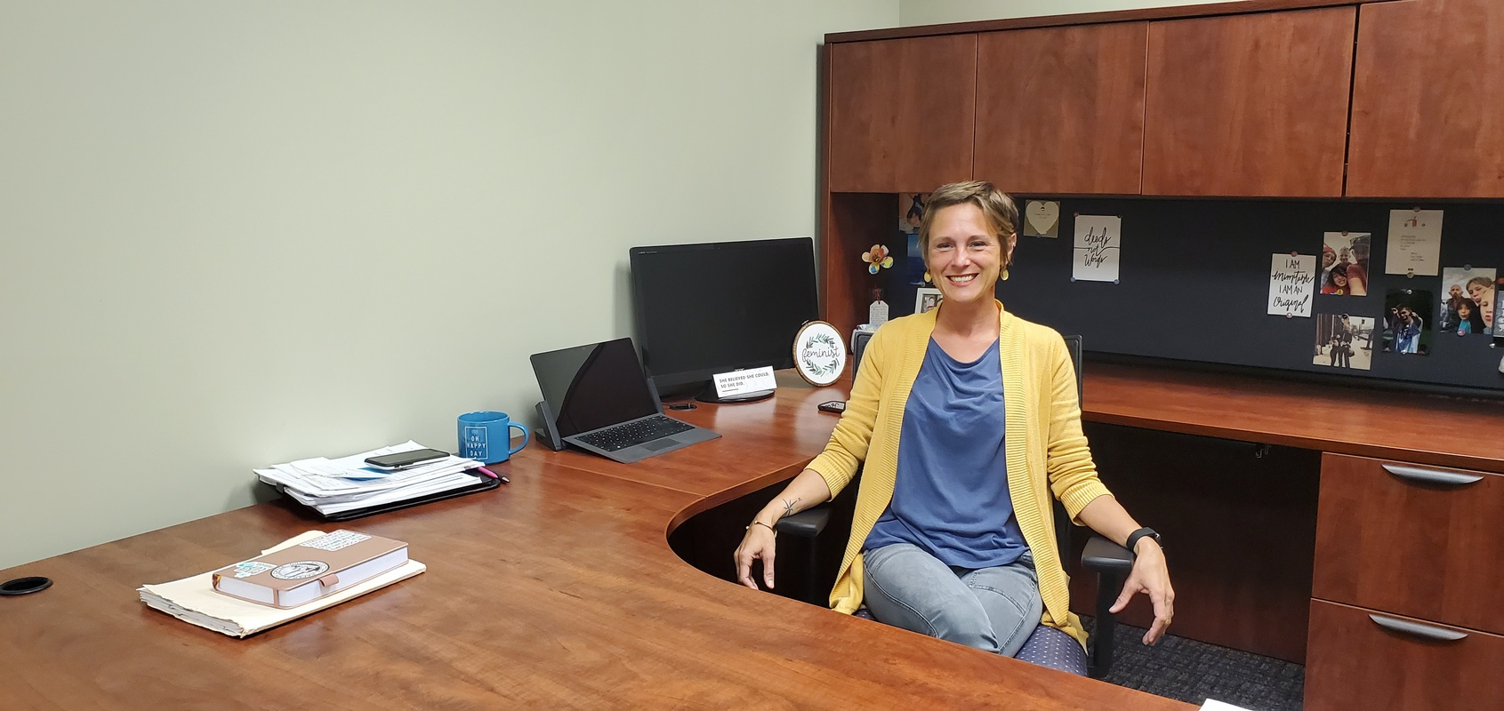 Marie Wilbanks - making our community brighter and warmer