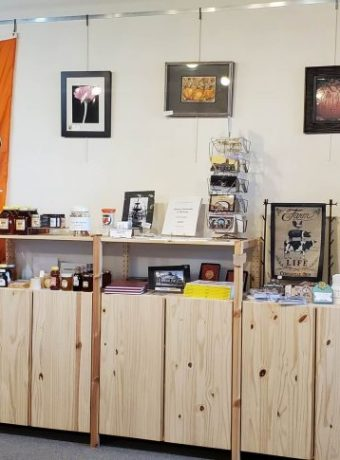 Small shop inside Pickaway County Visitors Bureau