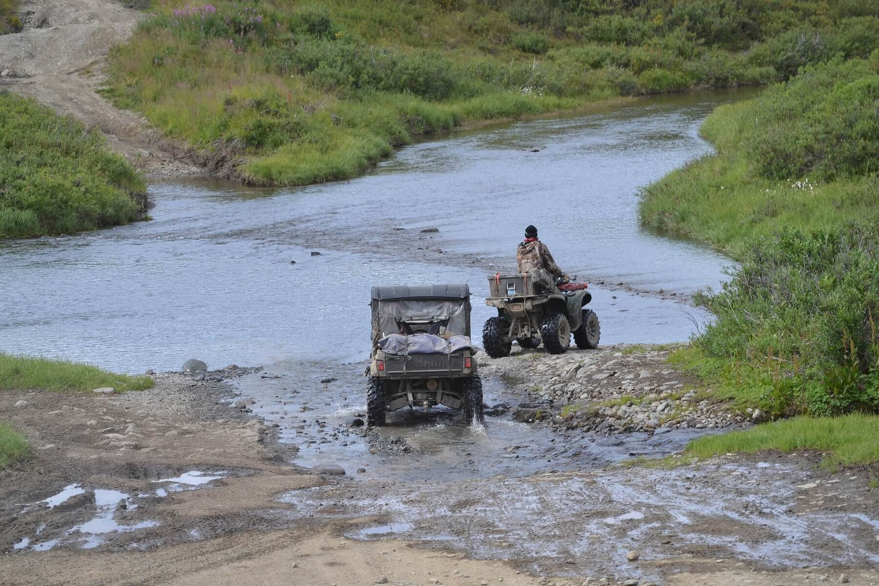 Tread lightly on public and private land with ATVs