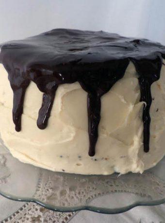 Chocolate Pumpkin Spice Nut Cake