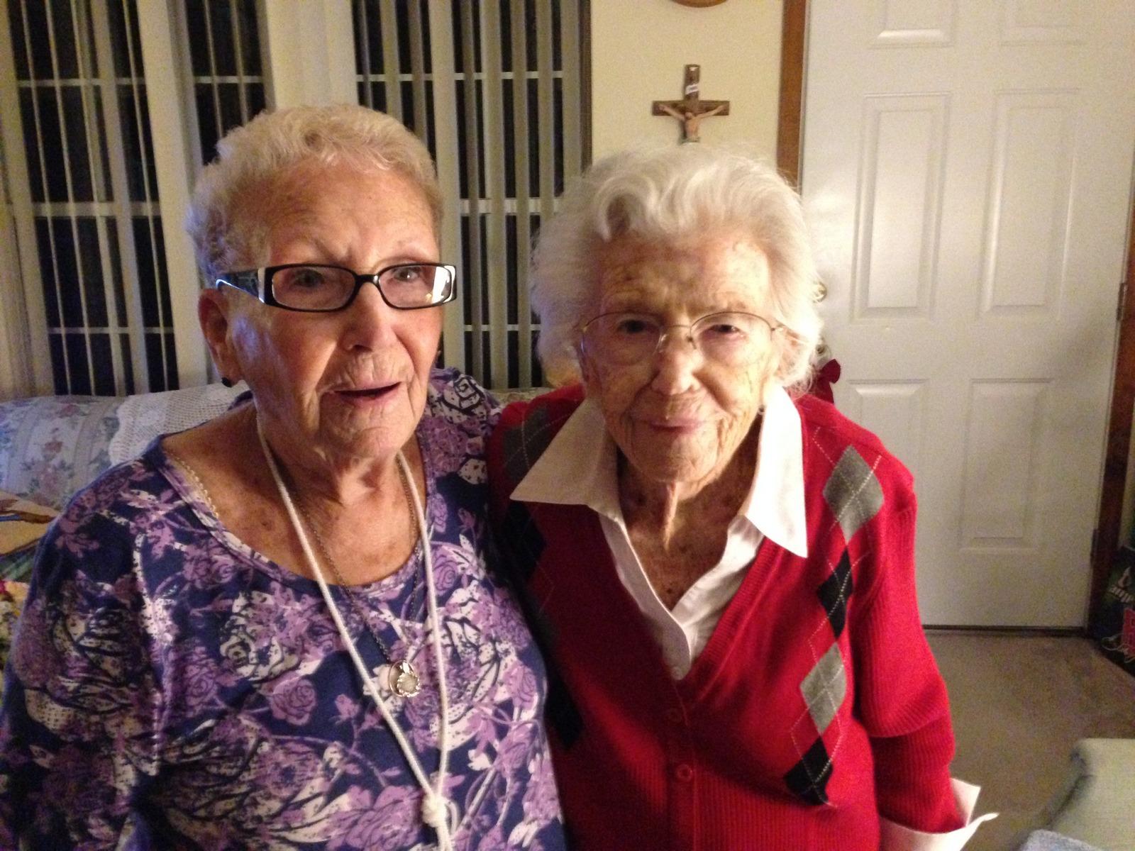 Gracille Kuhn and Eva Hanley