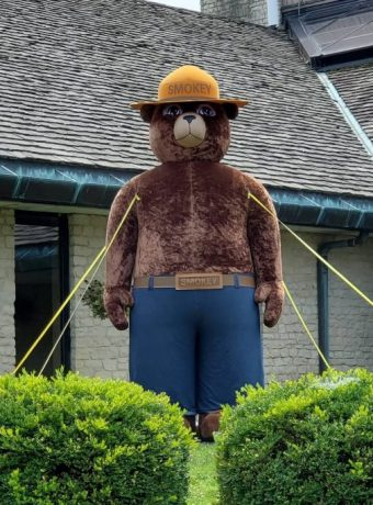 Smokey Bear at Deer Creek Pickaway County 2021
