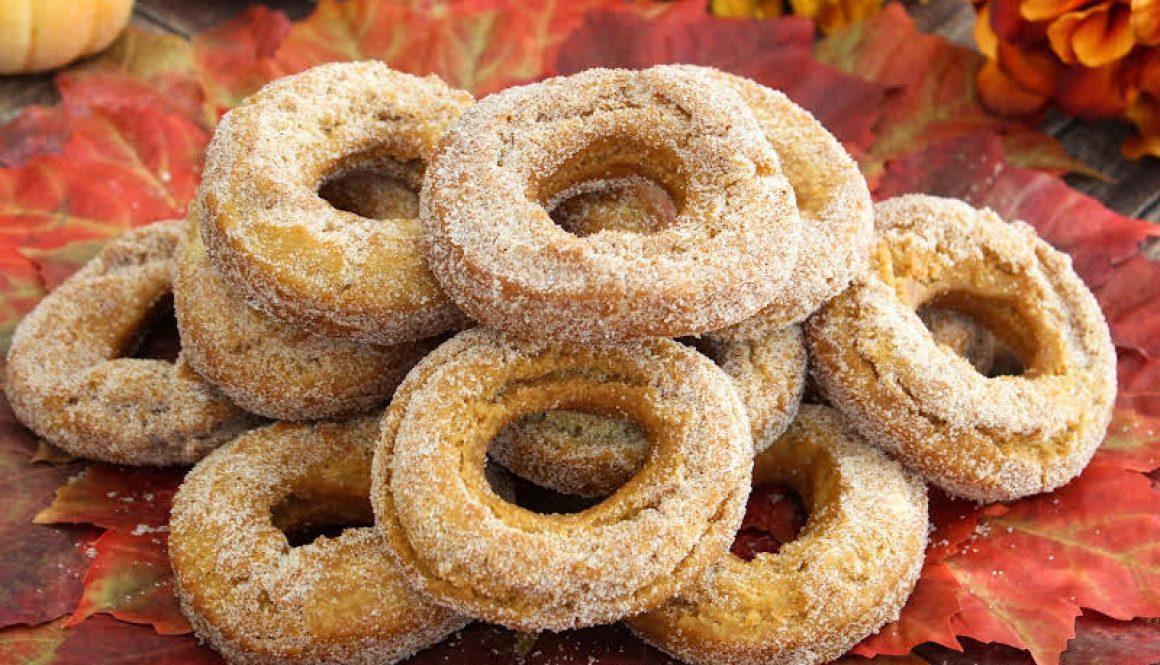 Pure Bliss Autumn Doughnuts